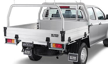 Heavy Duty Alloy Ladder Rack Kit