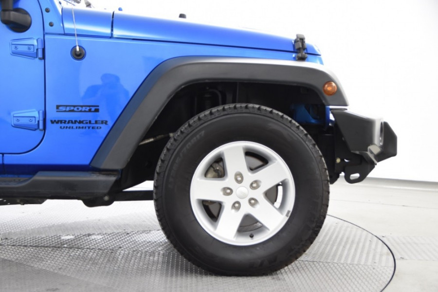 2015 Jeep Wrangler JK MY2015 Unlimited Softtop