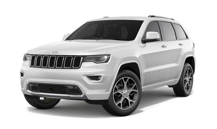 2020 MY0  Jeep Grand Cherokee WK Overland Suv