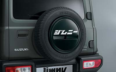 """<img src=""""Spare Tyre Decal - Jimny"""