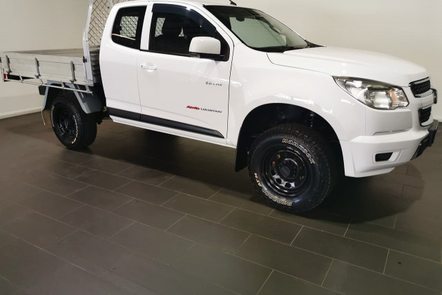 2014 Holden Colorado RG Turbo LX Cab chassis Image 2