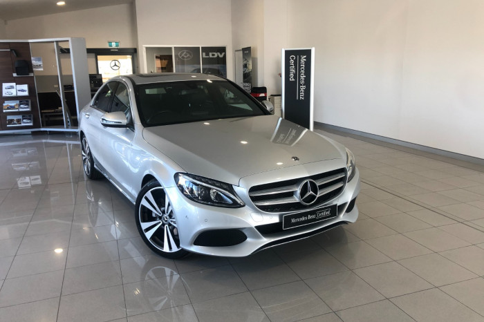 2018 MY08 Mercedes-Benz C-class W205 808MY C200 Sedan Image 1