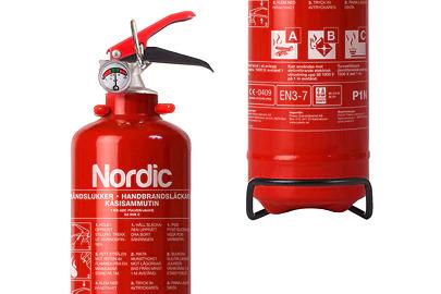 Fire extinguisher holder Image