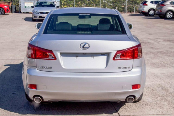 2011 Lexus IS250 GSE20R MY11 Prestige Sedan Image 4