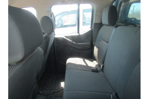 2012 Nissan Navara D40 S6 MY12 RX Utility Image 3
