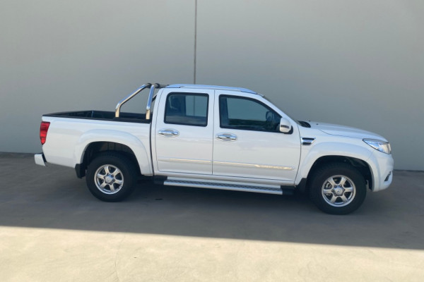 2018 Great Wall Steed NBP Double Cab Petrol Utility Image 3