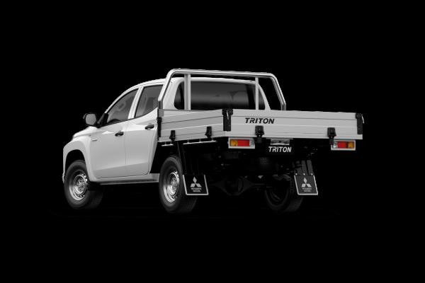 2020 MY21 Mitsubishi Triton MR GLX Double Cab Chassis 4WD Cab chassis