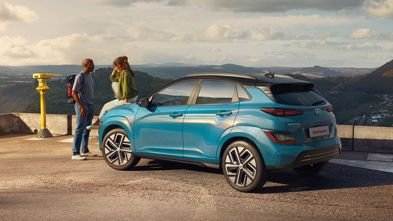 Kona Electric An exterior that turns heads.