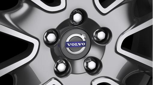 Chrome wheel bolts