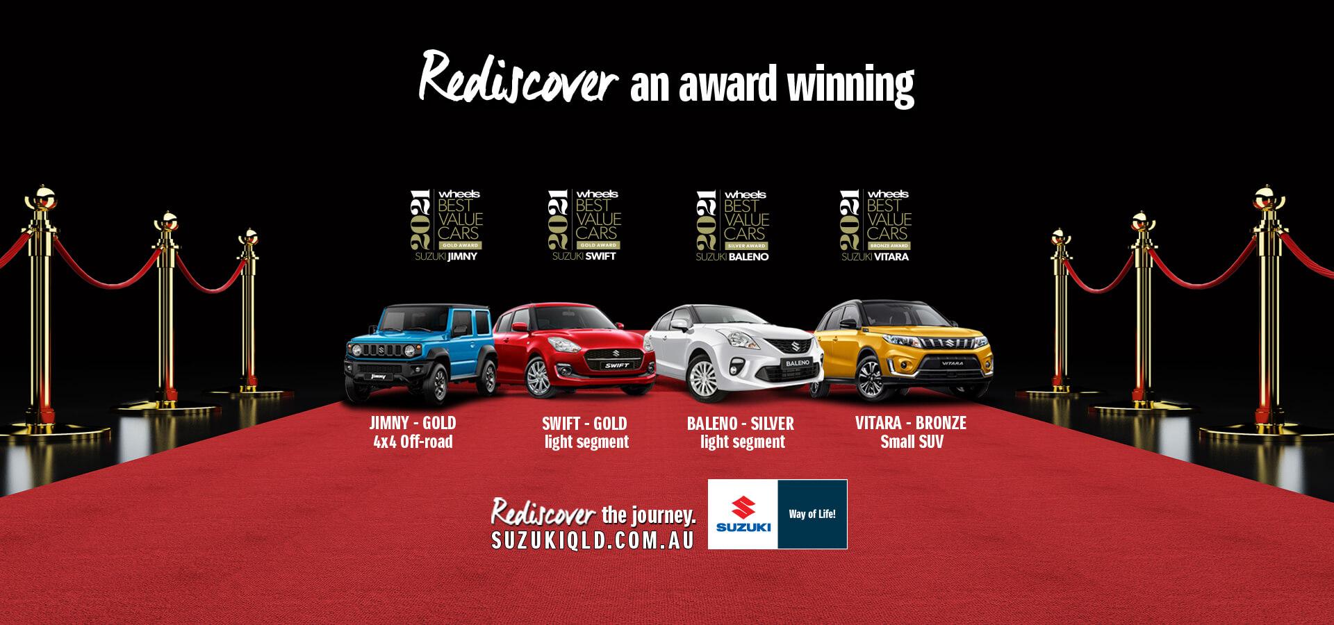 Rediscover an award winning range