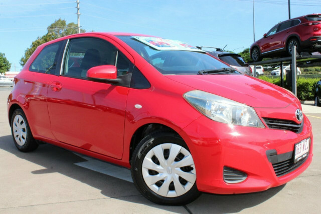 2011 Toyota Yaris NCP131R YRS Hatchback