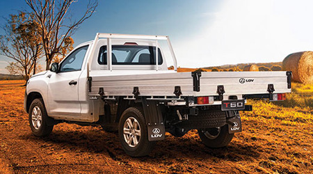 T60 Ute Cab Chassis The best workmate