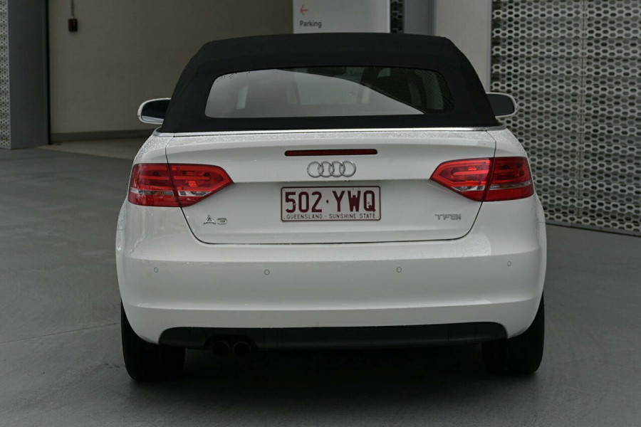 2011 MY12 Audi A3 8P MY12 Attraction Convertible