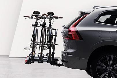 Bike holder for 3-4 bikes, towbar mounted Image