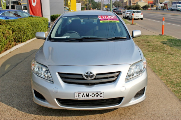 2008 Toyota Corolla ZRE152R Ascent Sedan Image 3