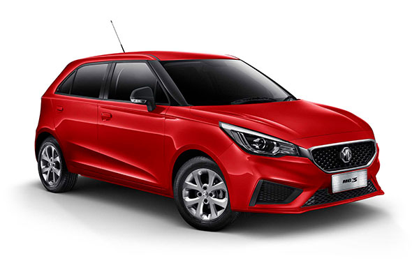 2020 MG MG3 SZP1 Core with Nav Hatchback
