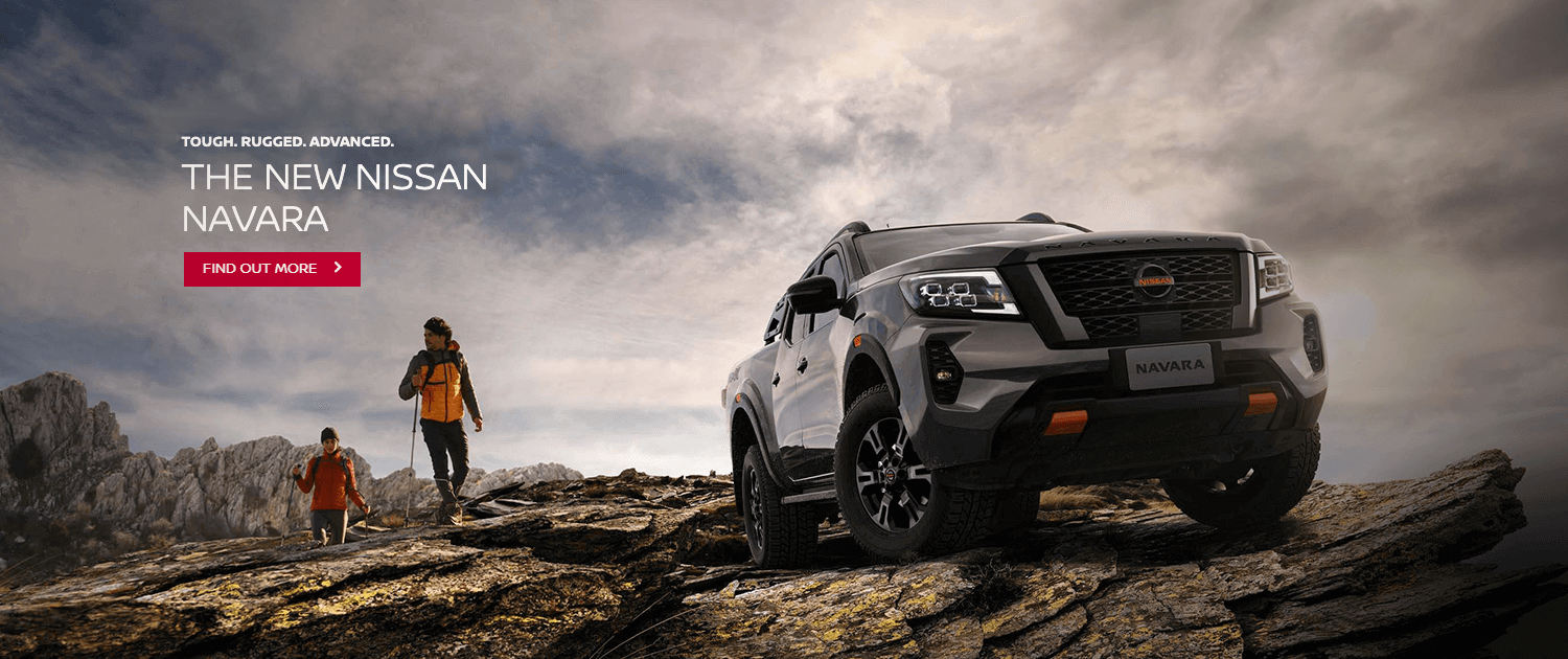 Tough. Rugged. Advanced. The new Nissan Navara