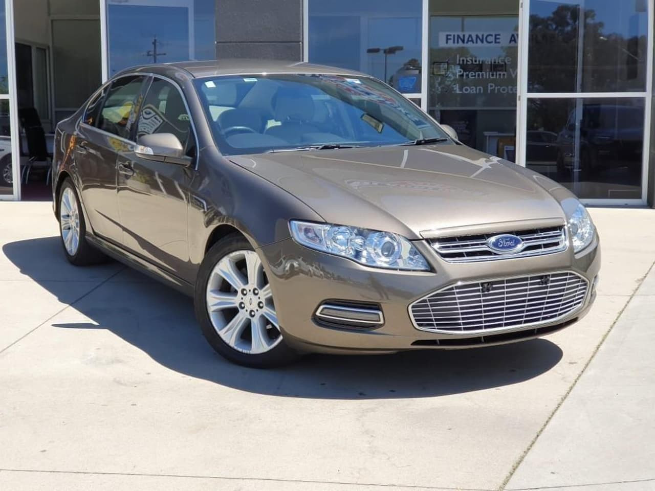 2012 Ford Falcon FG MKII G6E Sedan