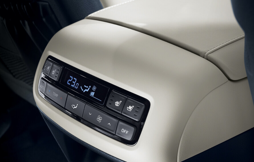 Palisade Personalised climate control.