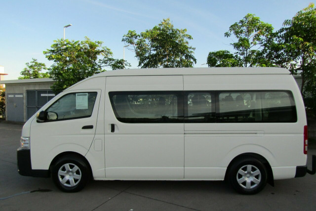 2018 Toyota HiAce KDH223R Commuter High Roof Super LWB Bus Image 4