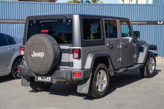 2014 Jeep Wrangler JK MY14 Unlimited Sport Softtop Image 4