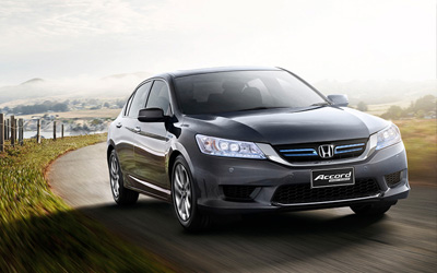 Accord Sport Hybrid Technology Never Looked So Good