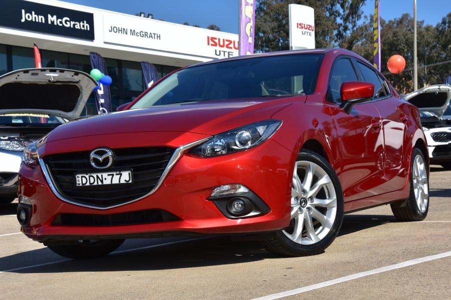 2016 Mazda 3 BM Series SP25 Sedan Sedan Image 1