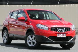 Nissan Dualis ST Hatch X-tronic 2WD J10W Series 3 MY12