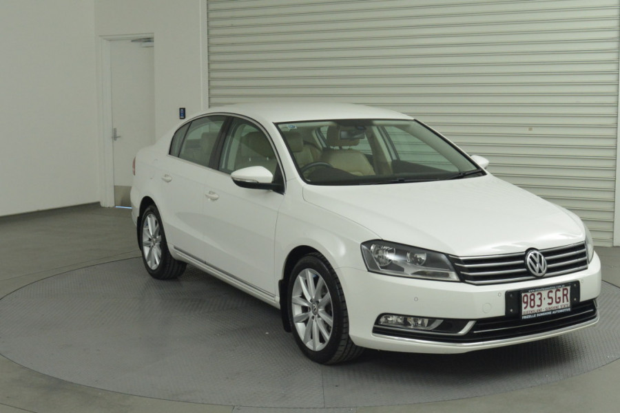 2012 MY12.5 Volkswagen Passat Type 3C MY12.5 125TDI Sedan Mobile Image 3
