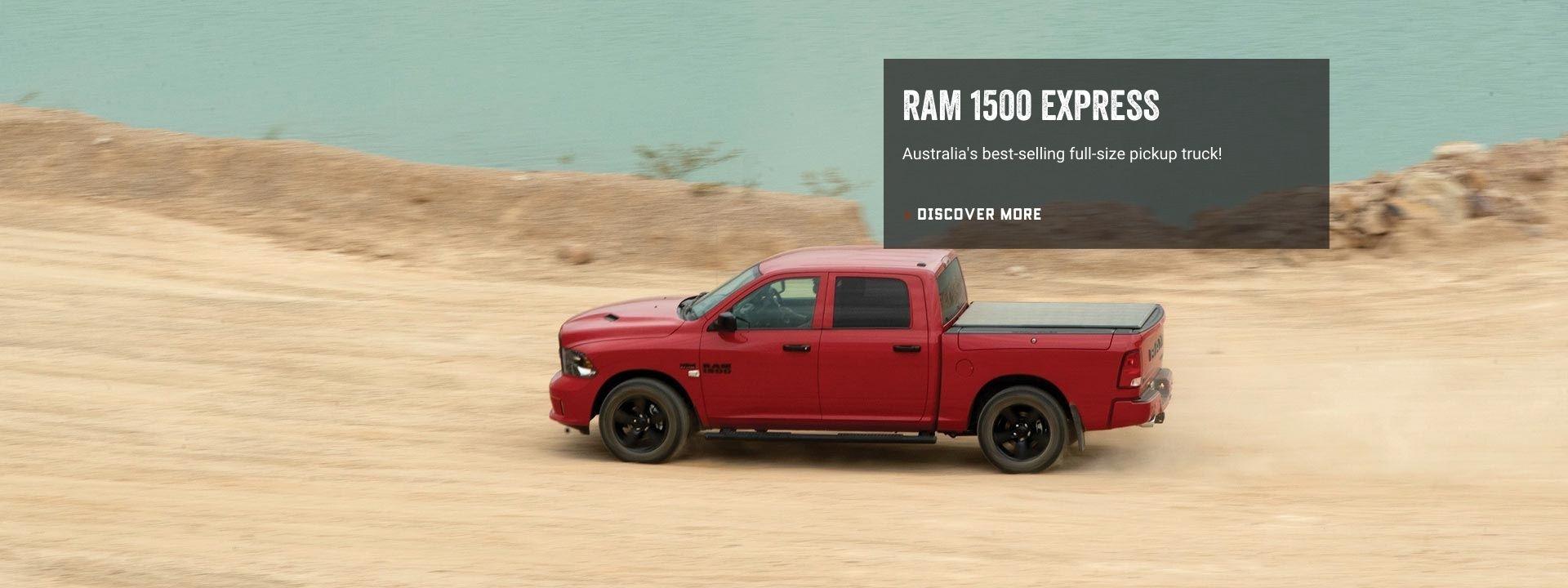 New Ram 1500 Express Crew Cab. Book a Test Drive.
