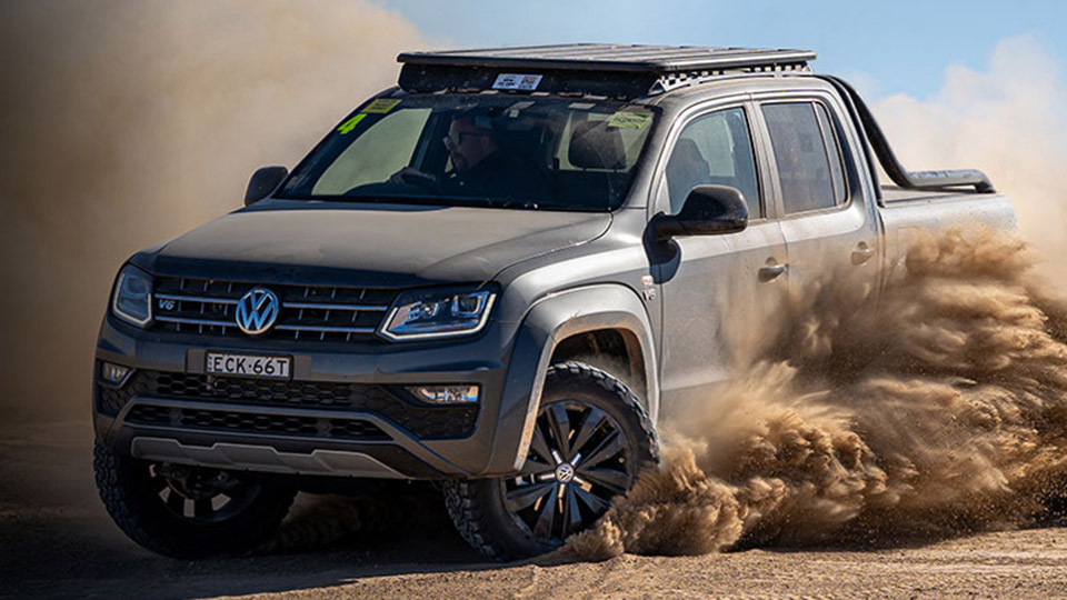 Amarok V6 Highline 580 Black Image