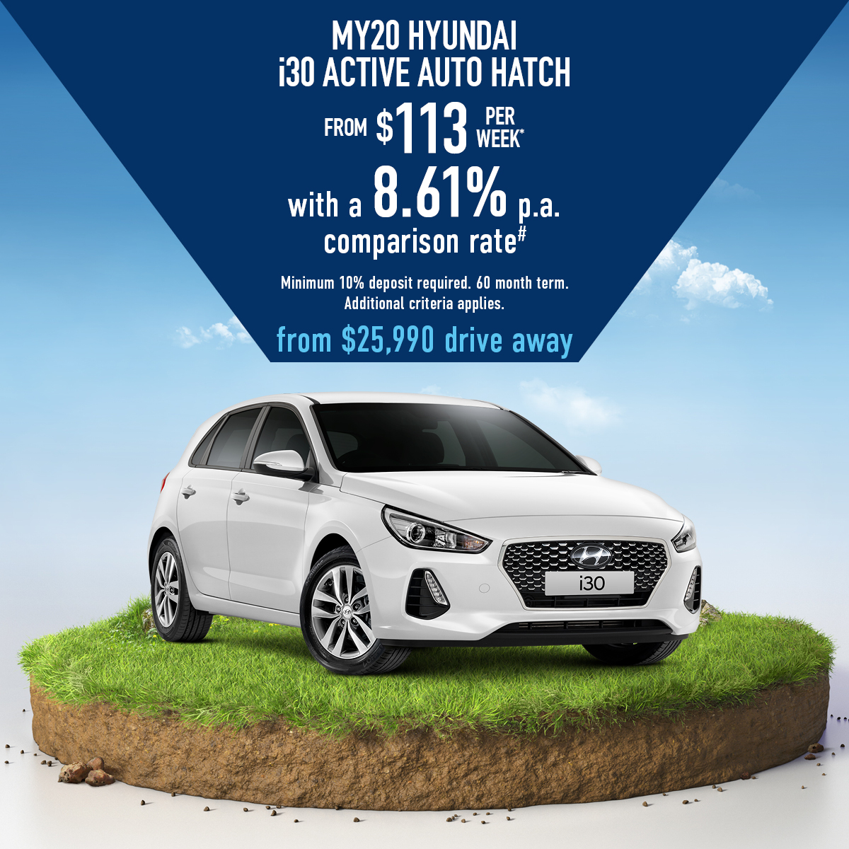 MY20 Hyundai I30 Active Auto hatch PD2 2L