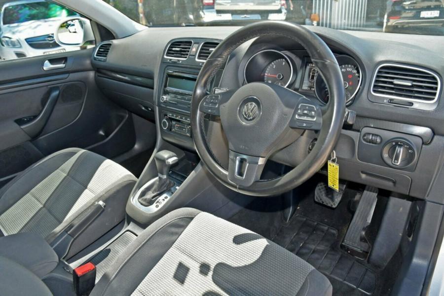 2010 MY11 Volkswagen Golf VI MY11 103TDI DSG Comfortline Wagon Image 8