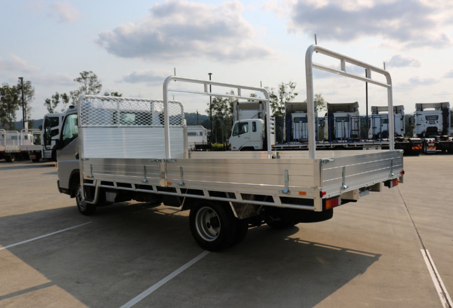 2019 Fuso Canter TRADIE TRAY Canter LIMITED EDITION SILVER TRADIE TRAY 515 WIDE CAB Tray