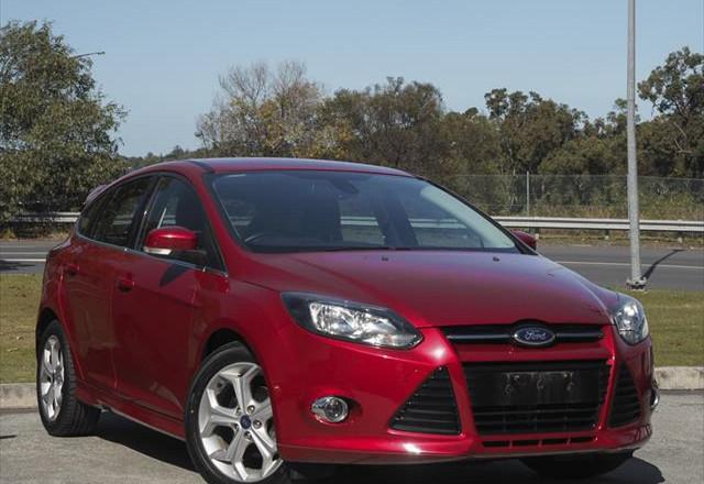 2013 Ford Focus LW MKII Sport Hatchback