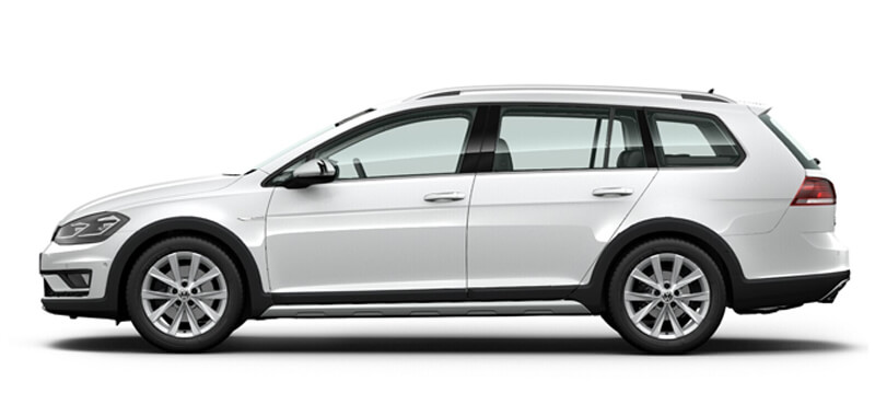 Golf Alltrack 132TSI Premium 6 Speed DSG 4MOTION