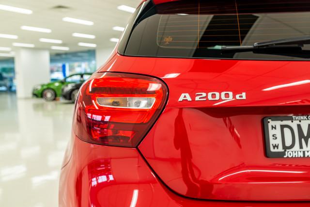 2017 MY08 Mercedes-Benz A-class W176  A200 d Hatchback Image 12