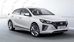 IONIQ Aerodynamic design.