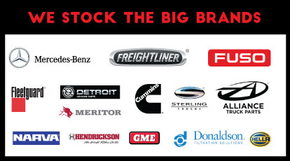 Parts Store we supply BIG BRANDS | Email parts@dtsunshinecoast.com.au or call  5452 0700