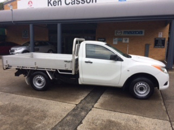 2014 Mazda BT-50 UP0YD1 XT Cab chassis