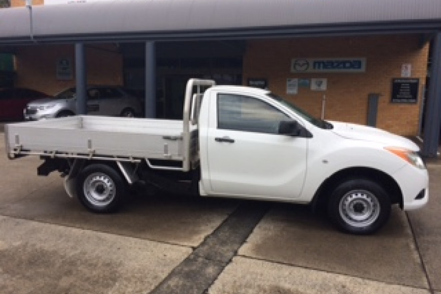 2014 Mazda BT-50 UP0YD1 XT Cab chassis Image 1