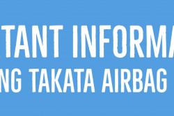 Takata airbag recall information
