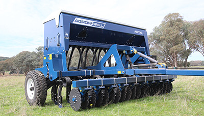 New Agrowplow Agrowdrill AD130 Seed Drill