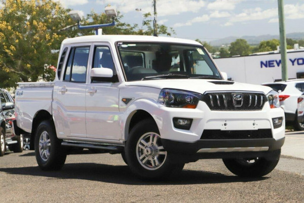 2018 MY19 Mahindra Pik-up (No Series) S10 Black mHawk Utility