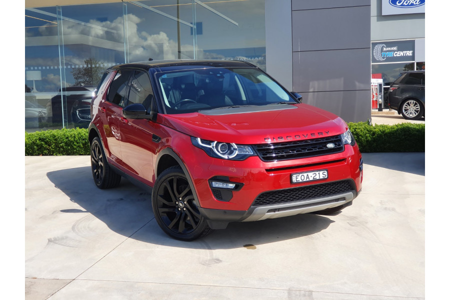 2018 Land Rover Discovery Sport L550 17MY TD4 150 Suv