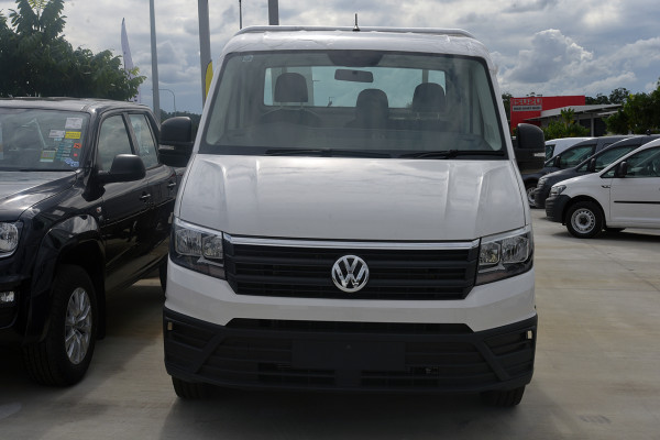 2019 Volkswagen Crafter SY1 LWB Ute Image 2