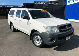 Toyota Hilux Workmate 4x2 TGN16R MY09