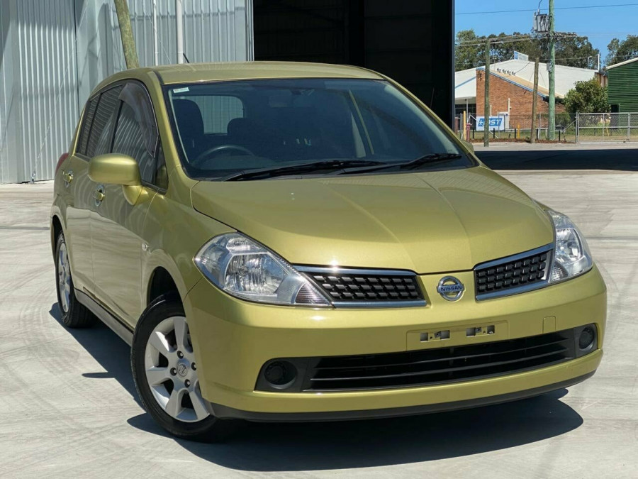 2008 MY07 Nissan Tiida C11 MY07 ST-L Hatchback Image 1