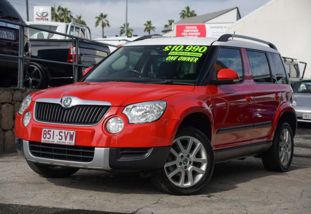 2013 Skoda Yeti 5L MY13 112TSI Wagon