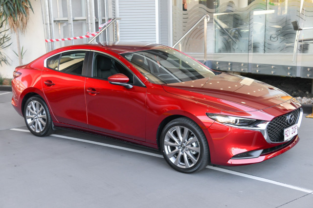 2020 Mazda 3 BP G20 Evolve Sedan Sedan Image 5